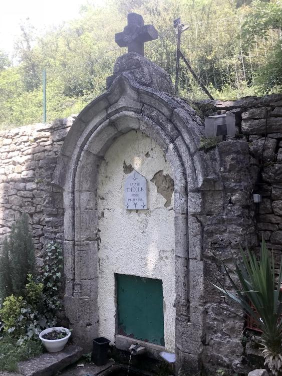 fontaine avant la rénovation