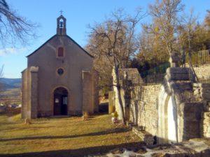 Exterieur chapelle Ste Thècle